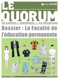 Quorum printemps 2012